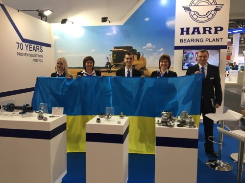 The Ukrainian leader of the HARP bearing industry demonstrated innovative solutions for effective farming (Agritechnica 2017) to the world