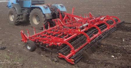CHERVONETS TRAILED SEEDBED CULTIVATOR