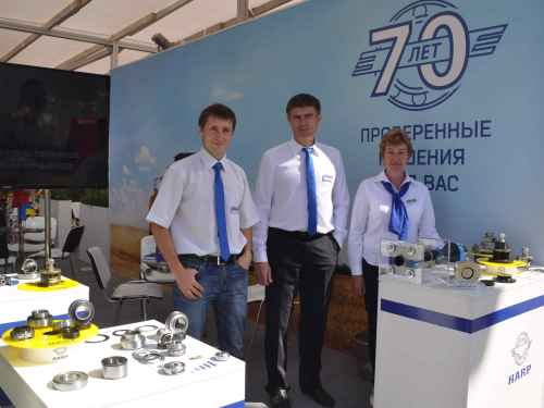 HARP presented super-protected bearings for agricultural machinery at AGRO-2018