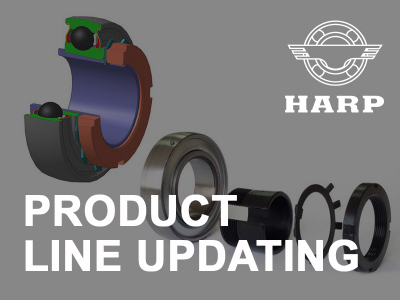 HARP improves the reliability of serial bearings for agricultural machinery