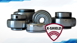 HARP-AGRO bearings with X-SHIELD seal