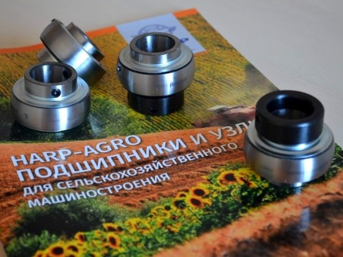 HARP HAS EXPANDED THE RANGE OF MAINTENANCE-FREE BEARINGS AND UNITS FOR AGRICULTURAL MACHINERY